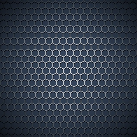 metal grid industrial background Stock Vector - 8928593