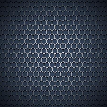 grid: sfondo industrial metal griglia Vettoriali