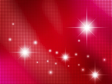 pixelate: pixelate abstract red passion background with stars