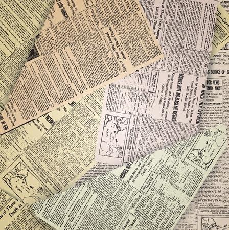 추상 오래 된 신문 빈티지 배경 일러스트