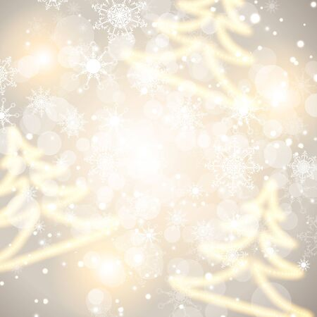 merry mood: abstract winter holiday background