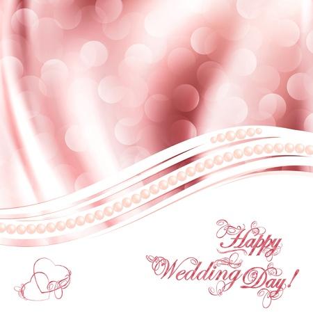 perlas: Saludos de la boda m�s de fondo de la tela cortinas de color rosa