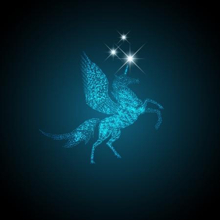 pegaso: Holiday Magic Pegasus que concede deseos