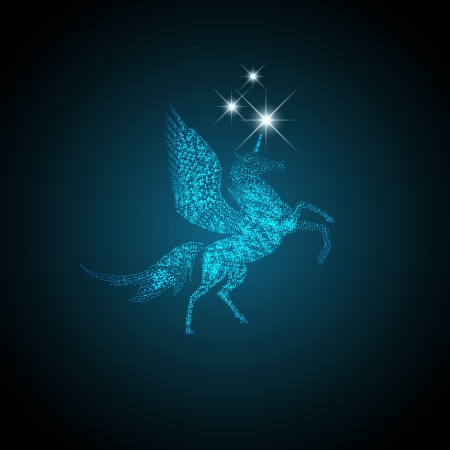 glimmer: Magic Holiday Pegasus Which Grants Wishes