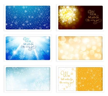 ecard: Natale e Capodanno saluto cartolina (470 x 264 pixel) Collezione