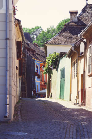 Medieval Town Sighisoara in Romania photo