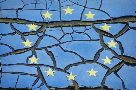 derrumbe: UE Crashed Grunge Fondo De La Vendimia