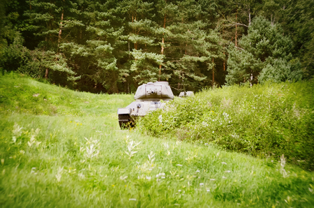 armoring: Tanks in Slovakia Stock Photo