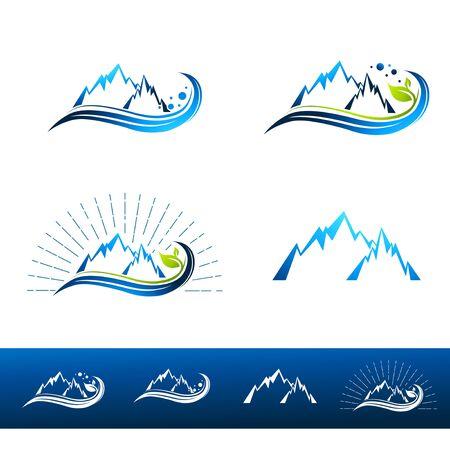 Mountain Resort colección del diseño de más de blanco