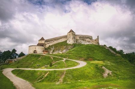 Rasnov  Fortress, Transylvania, Brasov, Romania Editorial