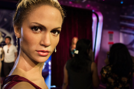 jennifer: Los Angeles, CA, USA - 6th July 2013: Madame Tussauds Hollywood figures - Jennifer Lopez.
