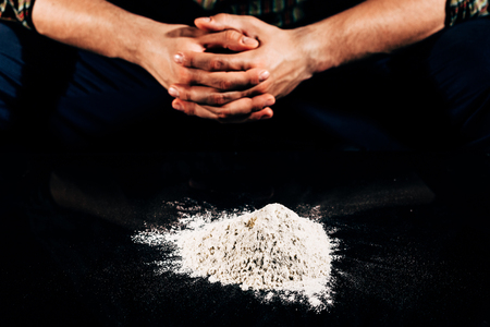 closer: Closer look to one bad habit such as drug addiction on cocaine