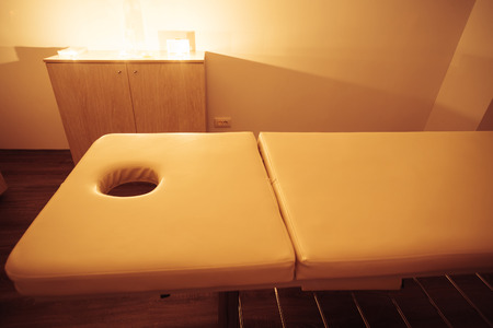 health care facilities: Special atmosphere in a massage room