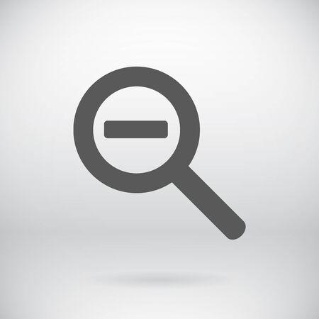 seeking: Illustration of  Magnifier Symbol