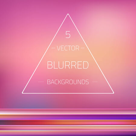gradient mesh: Illustration of Abstract Gradient Mesh Blurred  Backgrounds