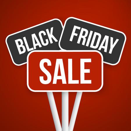 sale sign:  Black Friday Sale Sign.