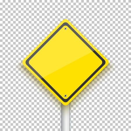 Illustration of Road Sign.