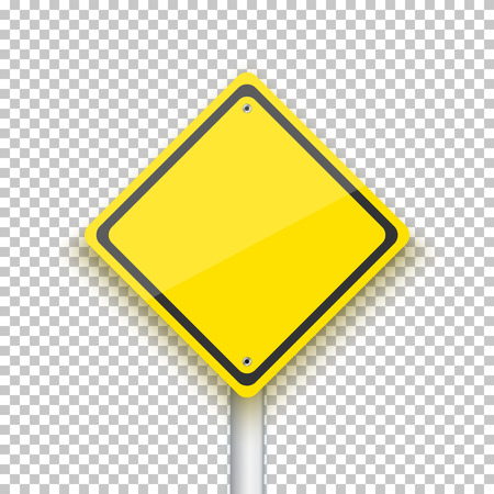 Illustration of Road Sign.