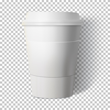 Illustration of a Coffee Cup Isolated on Transparent Background