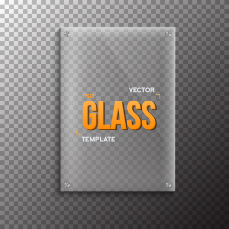 ps: Illustration of Realistic Glass Plate Template Icon.  Plastic Plate  Isolated on Transparent PS Style Background