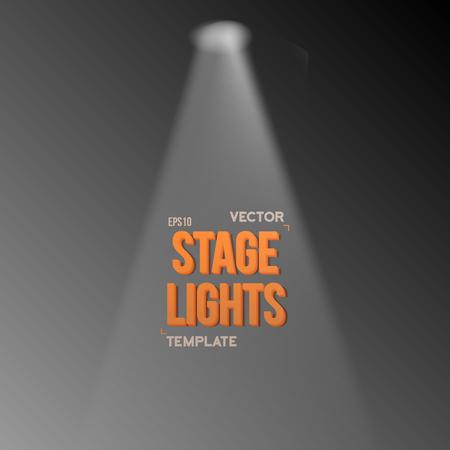 illuminating: Illustration of Transparent Studio Stage Light Effect. Stage Light Illuminating Podium. Bright Stage Light Effect. Transparent Studio Stage Light Effect on Transparent Overlay Background
