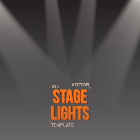 illuminating: Illustration of Bright Stage Light Effect. Stage Light Illuminating Podium. Transparent Studio Stage Light Effect on Transparent Overlay Background