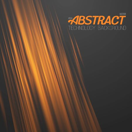 Illustration of Abstract Fire. Motion Graphics Fire Flow Template Illustration