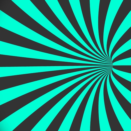 Illustration of 3D Tunnel Background. Spiral Hole Illusion Template