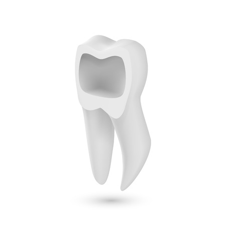 Illustration of Tooth Icon.