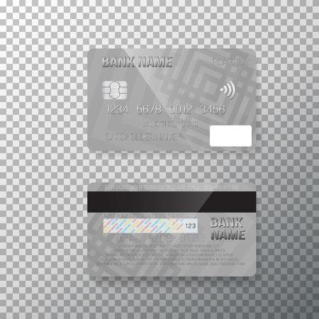 Illustration of Credit Card.