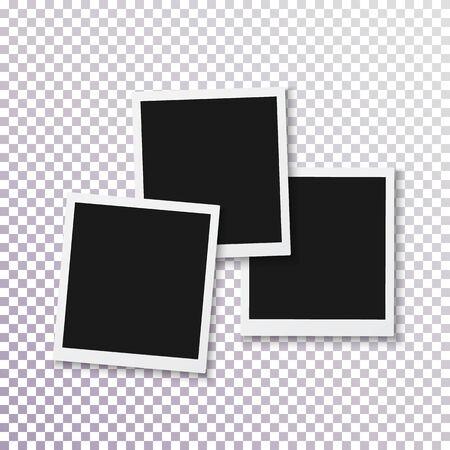 Illustration of Instant Photo Frame. Ilustracja