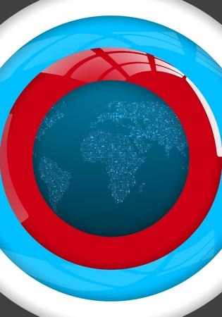 Illustration of Global Map.