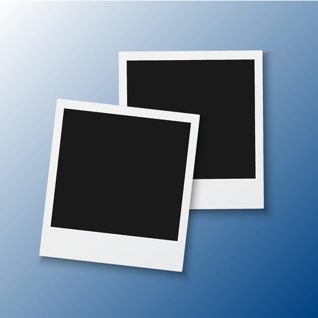 Illustration of Instant Photo Frame. Illustration