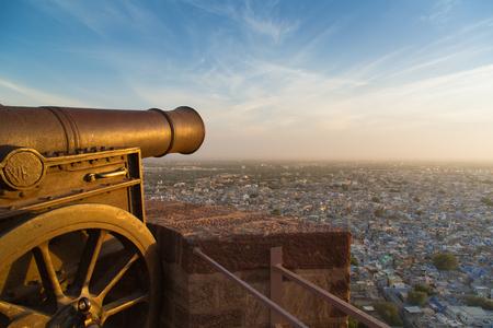 View of Jodphur from Mehrangarh Fort Stock Photo