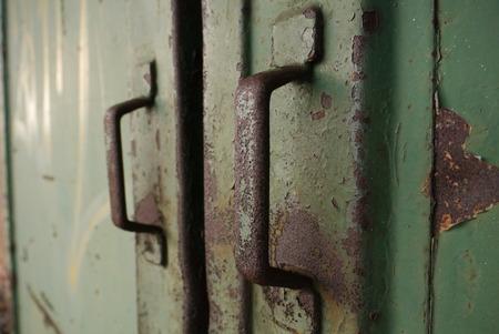 sliding door: old sliding door