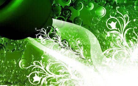 Digital illustration of color in digital background Stock Illustration - 6657417