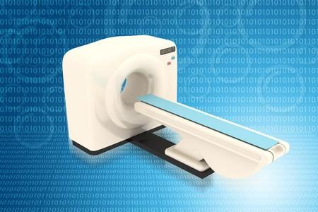 Digital illustration of medical equipment  in color background Stock Illustration - 7297803