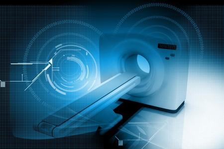 Digital illustration of medical equipment  in color background Stock Illustration - 7297866
