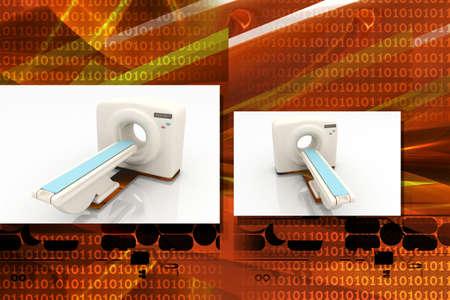 Digital illustration of medical equipment  in color background Stock Illustration - 7297841