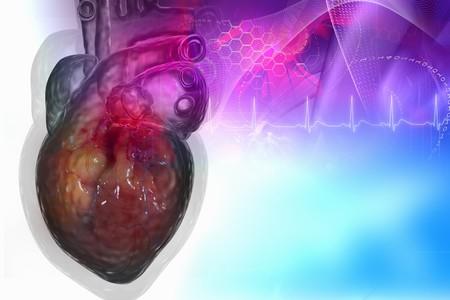 Human heart in digital design Stock Photo - 8057707