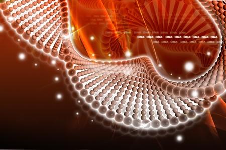 genom: DNA in digital design  Stock Photo