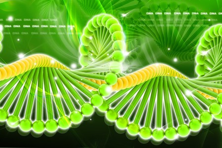 DNA in digital design  photo