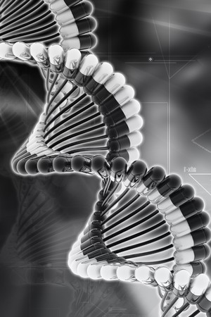 Dna in pill Stock Photo - 8068105