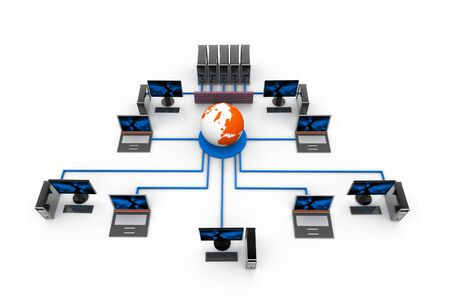 Network Firewall Protection Stock Photo - 8067595