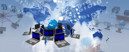 worldwide web: Concepto de World Wide Web  Foto de archivo