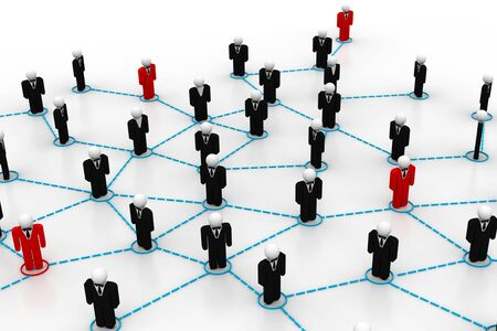 Business network Stock Photo - 8067605
