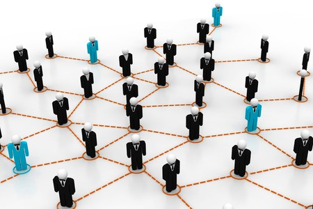 Business network Stock Photo - 8067609