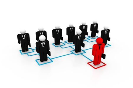 organisation: Organisation concept  Stock Photo