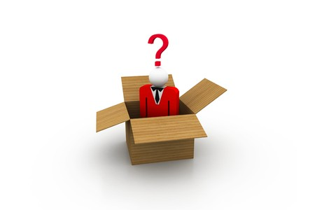 Think out of the Box Stock Photo - 8067745