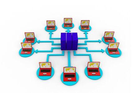 Computer network Stock Photo - 8067659